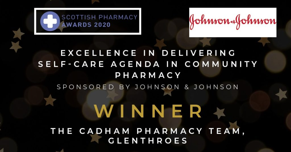 scottish pharmacy awards 2020